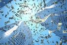 国債暴落と株式市場